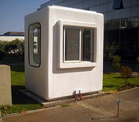 Casetas de vigilancia for Casetas de plastico para jardin